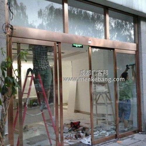 电动玻璃门维修服务